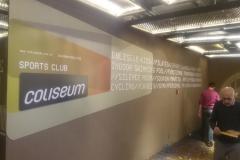 Coliseum Spor Salonu Duvar Tabela Yazı Uygulama