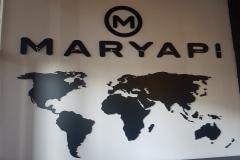 Maryapı Pleksi Kesim Dünya Haritası