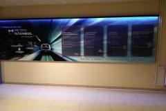 Metro İstanbul Işıklı Tabela