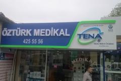 Öztürk Medikal Pleksi Kutu Harf Tabela