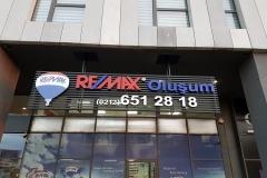 Remax Izgara Üstü Işıklı Pleksi Tabela