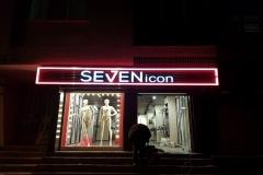 Seven İcon Pleksi Kutu Harf Tabela