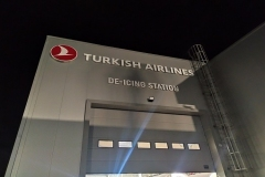 Turkish De İcing Station Işıklı Tabela