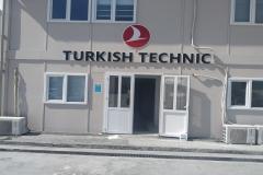 Turkish Technic İstanbul Havalimanı Pleksi Tabela